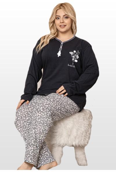 Tampap Kadın Büyük Beden Pijama Takımı