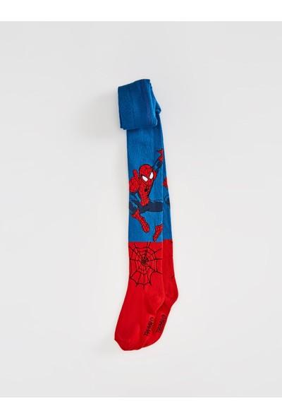 LC Waikiki Spiderman Erkek Çocuk Külotlu Çorap