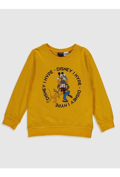 LC Waikiki Mickey Mouse Erkek Çocuk Sweatshirt