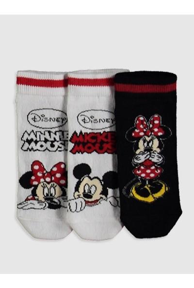 LC Waikiki Mickey Mouse Kız Çocuk Patik Çorap