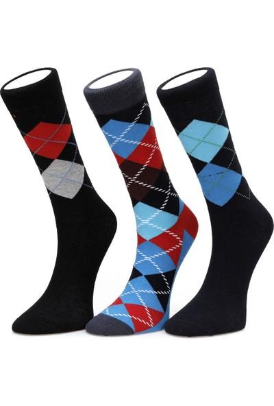 Lumberjack Argyle1 Siyah Çorap