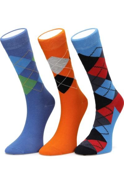 Lumberjack ARGYLE12 Mavi Çorap