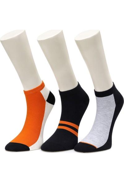 Lumberjack Blockpatik Turuncu Çorap