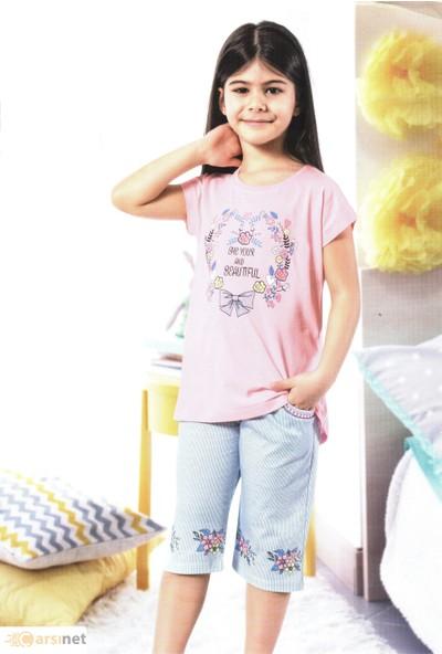 Özkan Kız Çocuk Kapri Takım