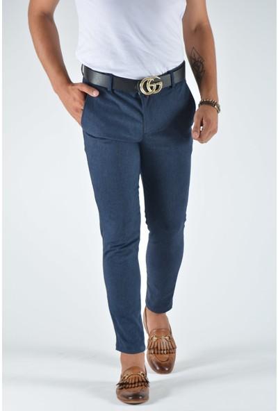 Terapi Men Erkek Slim Fit Keten Pantolon