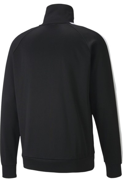 Puma Iconic T7 Track Erkek Siyah Fermuarlı Sweat 59763301