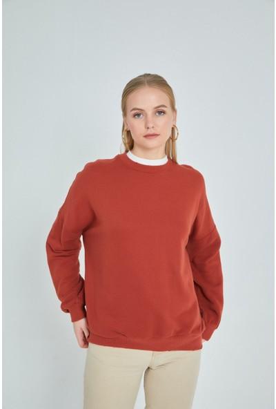 Loukai Yumuşak Dokulu Sweatshirt