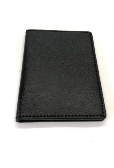 Cascades Leather Doğal Deri Siyah Renk Erkek Cüzdan Kartlık