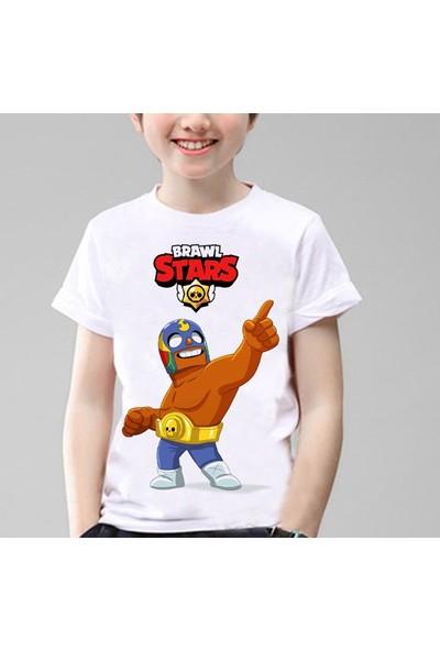 TakeTshirt Brawl Stars El Primo Çocuk T-Shirt