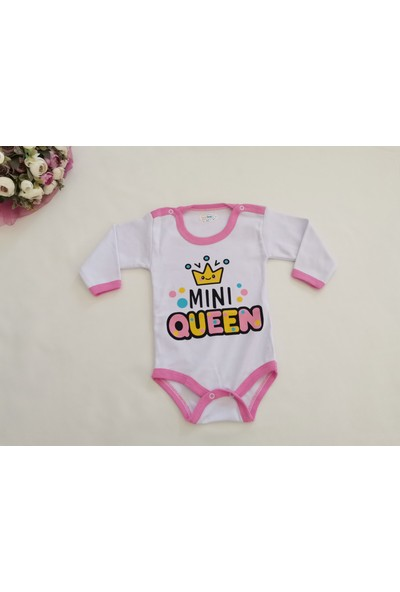 Luxeline Mini Queen Baskılı Pembe Body