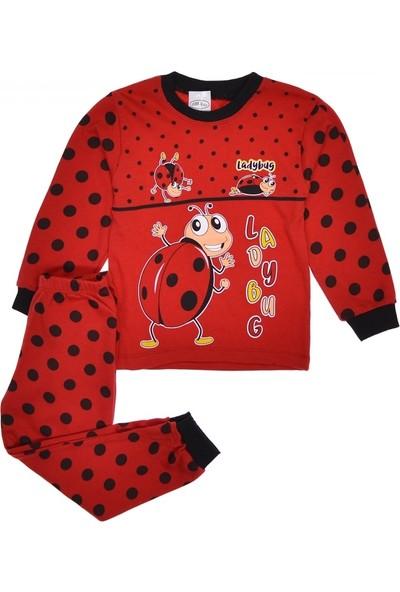 Süpermini Uğur Böcek Baskılı Pijama Takımı