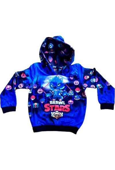 Brawl Stars Hayranlarına En Özel Tasarım-Özel Baskı Çocuk Sweatshırt865