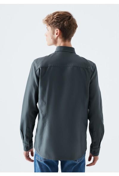 Mavi Erkek Yeşil Gömlek 020860-29765