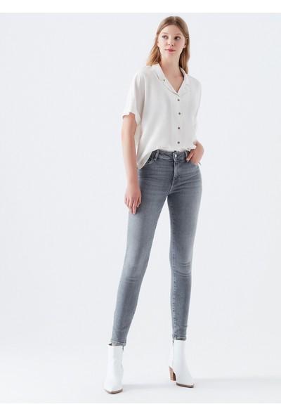Mavi Kadın Tess Gri Jean Pantolon 100328-30085