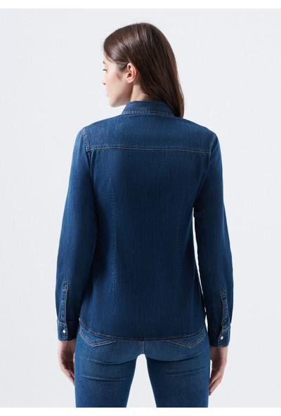 Isabel Koyu Mavi Jean Gömlek 1257129906