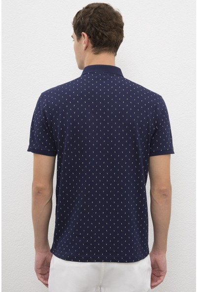 U.S. Polo Assn. Erkek Lacivert T-Shirt 50225243-VR033