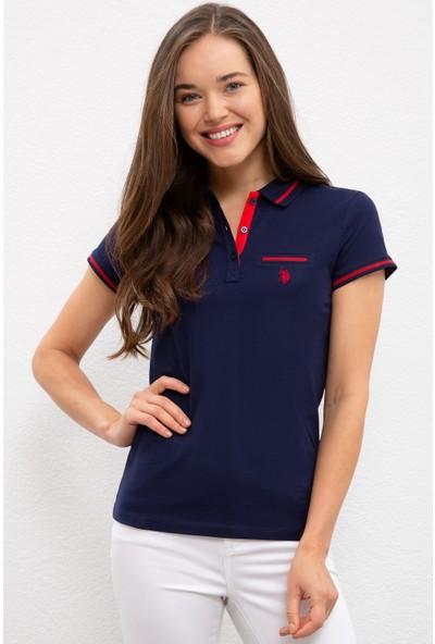 U.S. Polo Assn. Kadın Lacivert T-Shirt 50225753-VR033