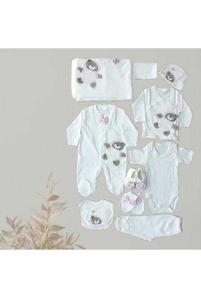 İncir Baby Little Bear 10'lu Hastane Çıkışı Beyaz