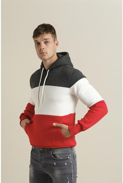 Oksit Crash 1562 Parçalı Polar Sweatshirt