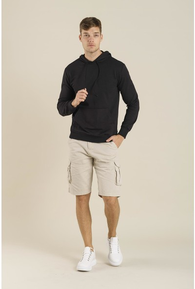 Oksit Edgar Pamuklu Slim Fit Sweatshirt