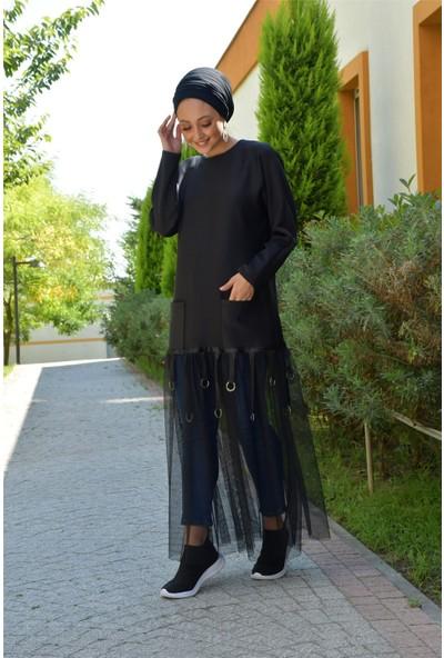Beray&Mataş Tüllü Scuba Abaya