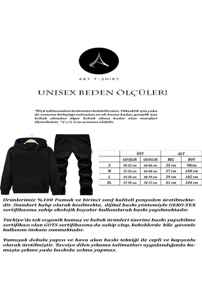 Art T-Shirt Leader Iı Society Unisex Eşofman Takımı