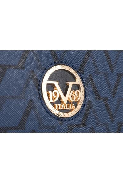 19V69 Italia 5185 Lacivert Kadın Sırt Çantası