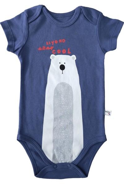 Veo Baby Stay Cool Kız Bebek & Erkek Bebek Kısa Kollu Body