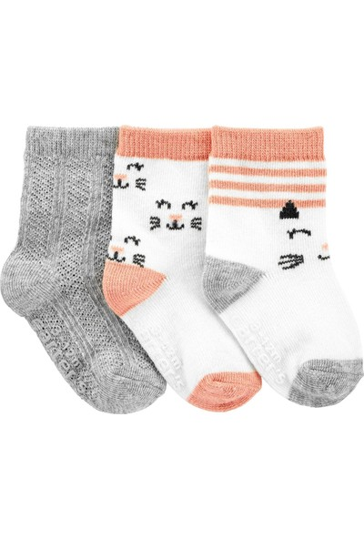 Carter's 3'lü Bebek Çorabı 1J111210