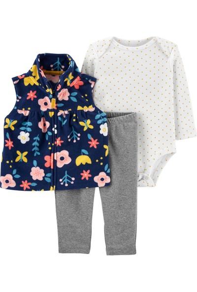 Carter's Çiçekli 3'lü Bebek Takımı 1J202410