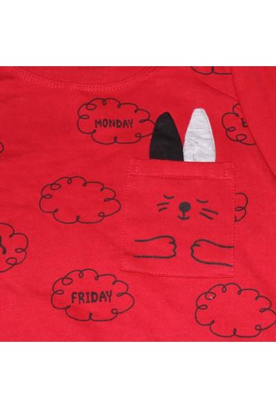 Voi Bulut Baskılı 2'li Erkek Çocuk Takım