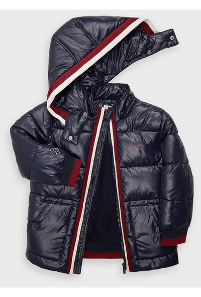 Mayoral Kışlık Erkek Çocuk Kapüşonlu Mont Lacivert 4478