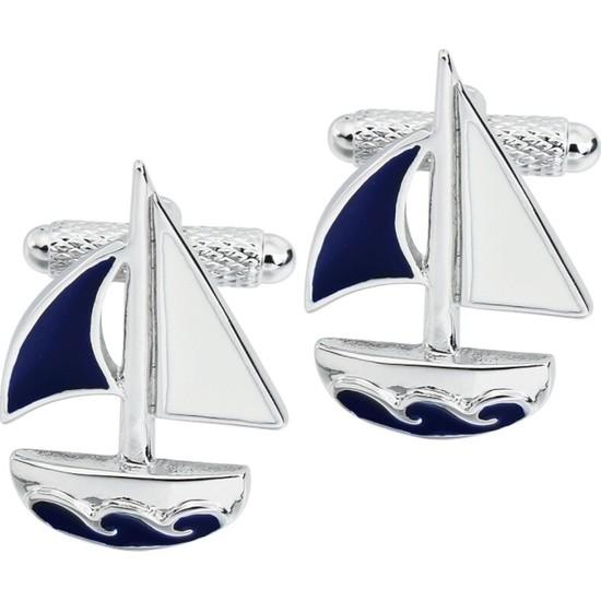 Omark Cotton Göcek Yacht Kol Düğmesi