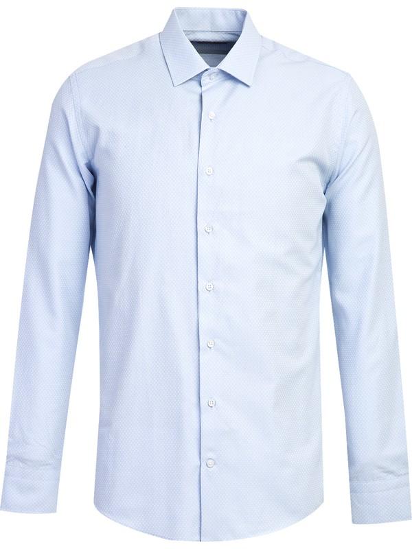 Kiğılı Erkek Uzun Kol Slim Fit Gömlek