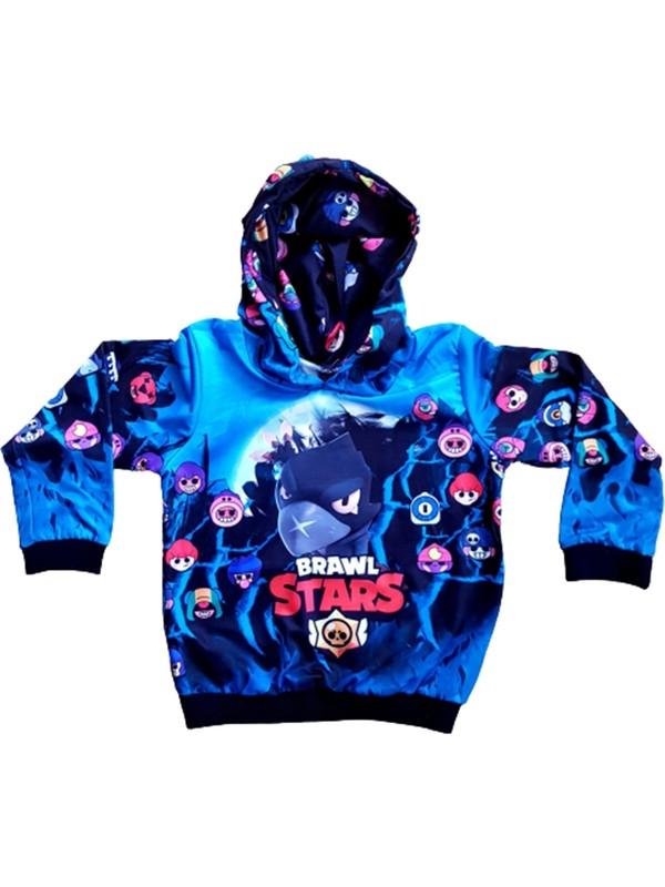 Brawl Stars Hayranlarına En Özel Tasarım-Özel Baskı Çocuk Sweatshirt