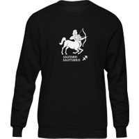 Fandomya Yay Burcu Siyah Sweatshirt