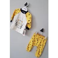 Minilay Erkek Bebek Sarı Alt Üst Takım