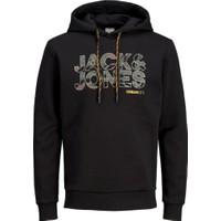 Jack & Jones Jcorad Hood Erkek Kapşonlu Sweatshirt