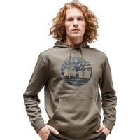Tımberland Yc Core Tree Logo Pull Over Hoodie Erkek Kapşonlu Sweatshirt