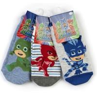 Pijamaskeli 6'Lı Çocuk Çorap 15981