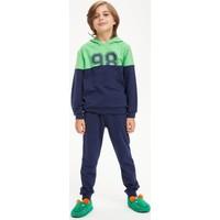 DeFacto Erkek Çocuk Baskılı Sweatshirt ve Eşofman Altı Takım S0186A620AU