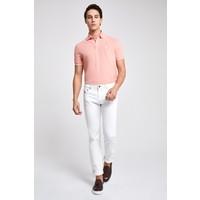 D'S Damat Beyaz Denim Pantolon