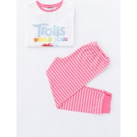 Penti Çok Renkli Kız Çocuk Trolls Glıtter 2'li Pijama Takımı