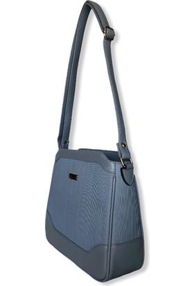 Uk Polo Club ARM101 Kadın Çapraz Çanta - Mavi