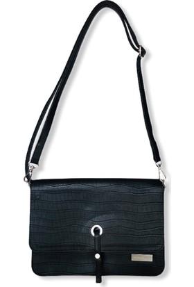 Uk Polo Club ARM395 Kadın Çapraz Çanta - Siyah