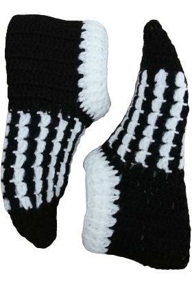 Nuh Home Kışlık Kadın Çorabı El Yapımı Çorap