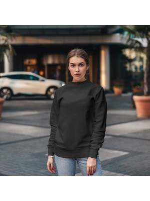 Fandomya Koç Burcu Siyah Sweatshirt
