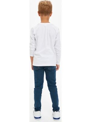 Defacto Erkek Çocuk Slim Fit Jean Pantolon S0590A620WN