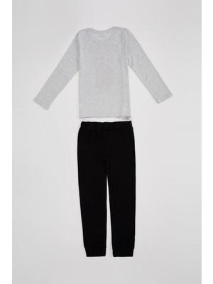 DeFacto Erkek Çocuk Regular Fit Pijama Takım R9705A620AU