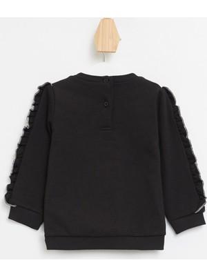 DeFacto Kız Bebek Nakışlı Sweatshirt N2884A220WN